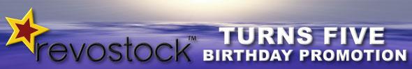 Revostock Turns Five Birthday Promotion